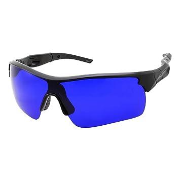 faf89daa2a37 Men s Golf Ball Finder Glasses - True Blue Lens - Sports Style Frame - Wrap  Around