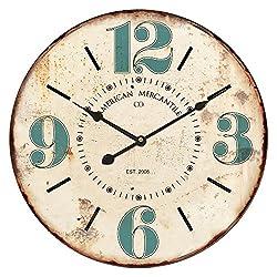 VIP International Round Wall Clock -