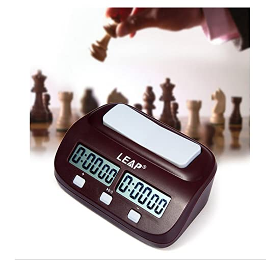 Ckeyin174; Professional Digital Basic Chess Clock Timer with Alarm - Red 1389040mm