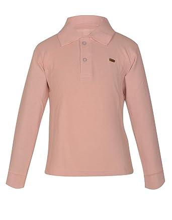 a3eb8ba0f187 Gkidz Boys Solid Cotton Full Sleeve Polo T Shirt(Boys-LSLV-Polo-L ...