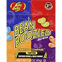 Jelly Belly - BeanBoozled Jelly Beans - 1.6 oz boxes - 24 Count Case - 3rd Edition