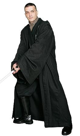 Disfraz de Sith o Jedi de Star Wars, sólo la túnica, color negro ...