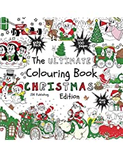 The Ultimate Colouring Book - Christmas Edition