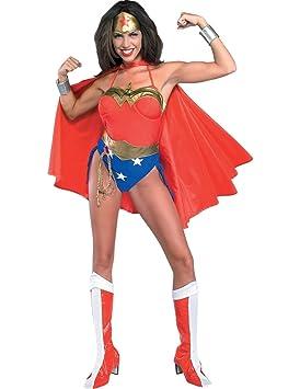 Disfraz de Wonder Woman adulto: Amazon.es: Juguetes y juegos