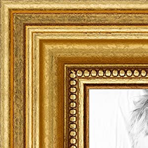 arttoframes 16x20 inch gold foil on pine wood picture frame wom0066 81375 ygld 16x20