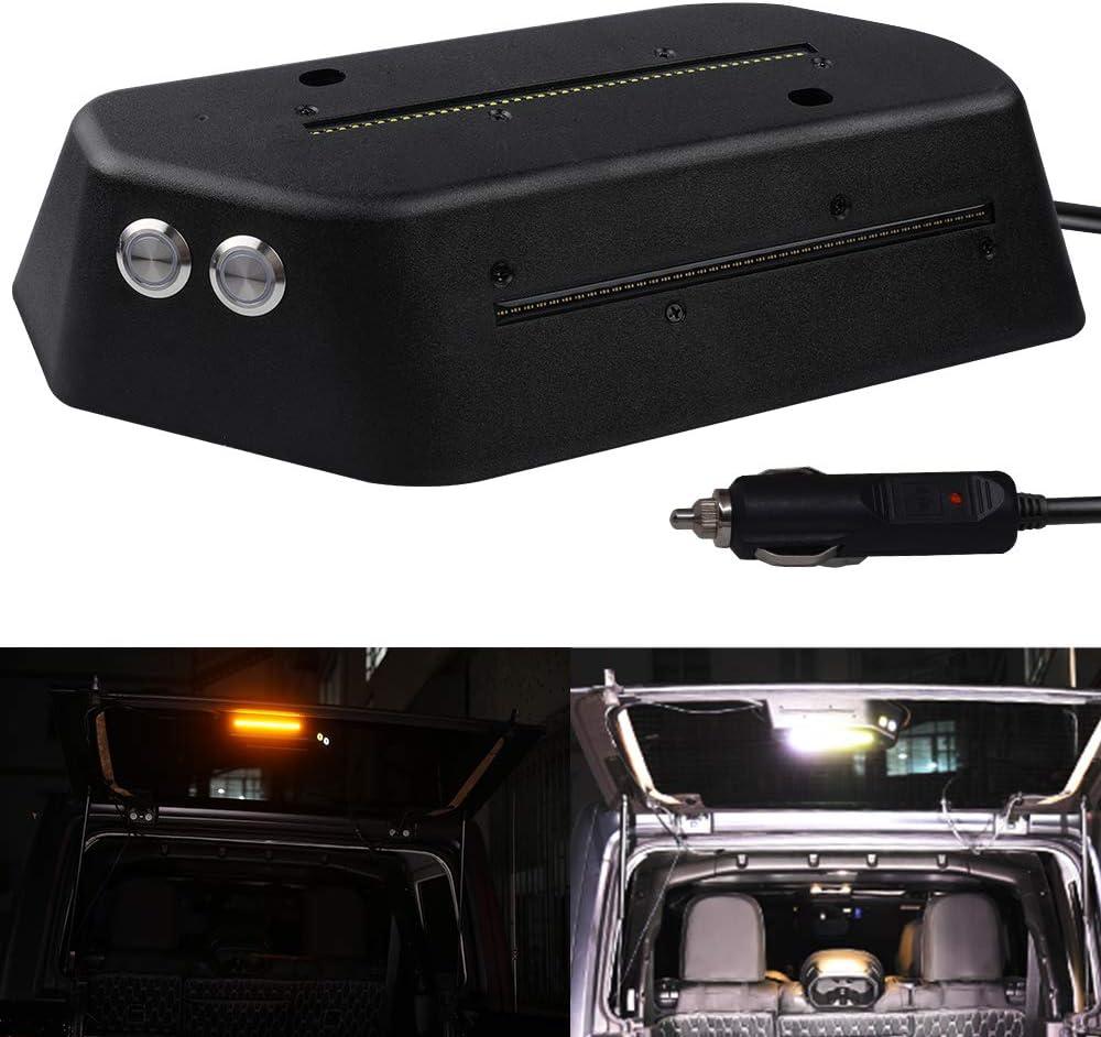 XENPLUS LED Cargo Light for Jeep Wrangler JL Cargo Trunk Light Super Bright 6000k 460 Lumen Car