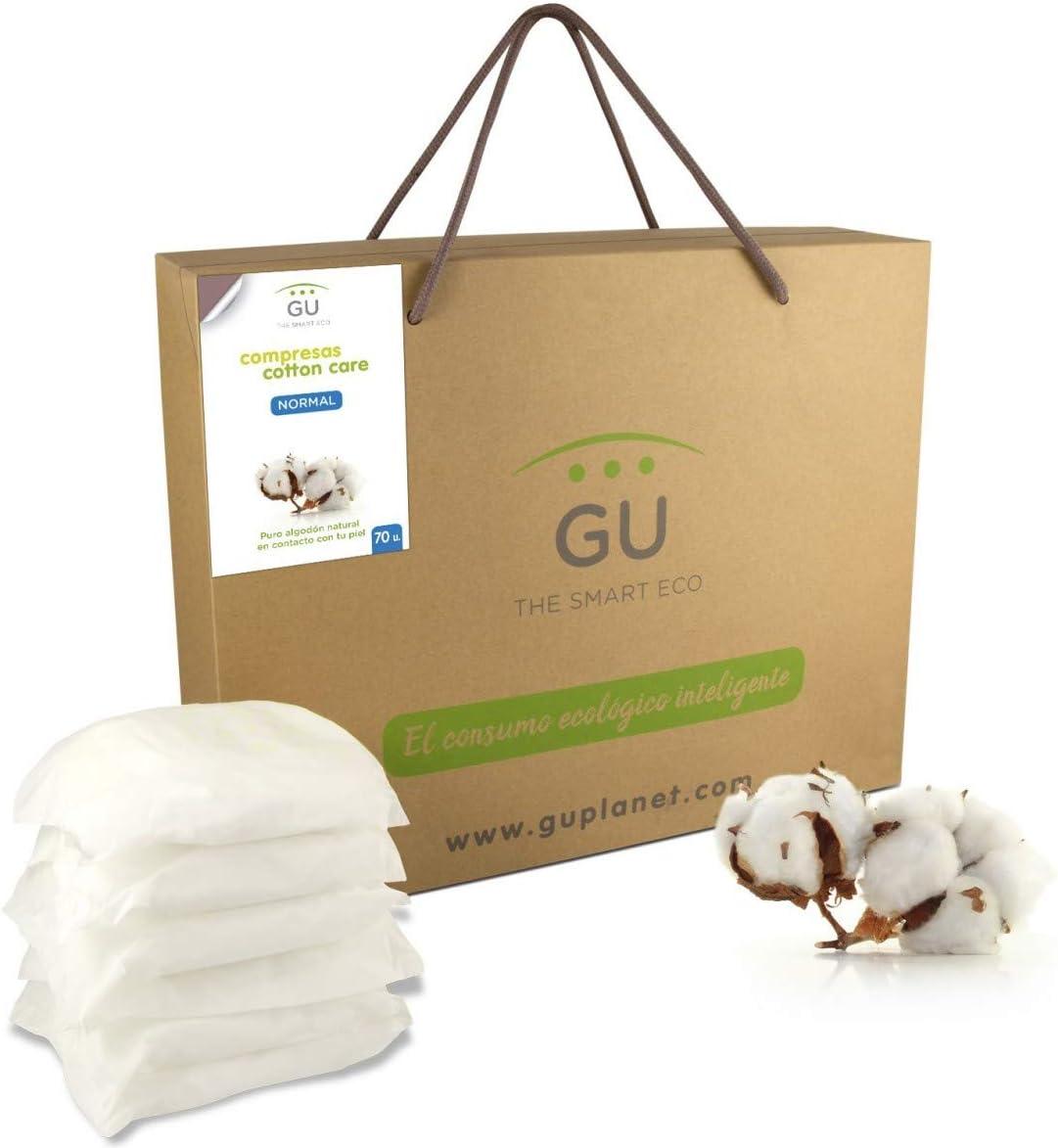 Compresas de algodón - Incontinencia - Normal (70u.): Amazon ...