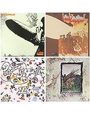 Led Zeppelin - I - II - III - IV - HQ Remastered Original Vinyl 180g - 4 LP Vinyl Album Bundling