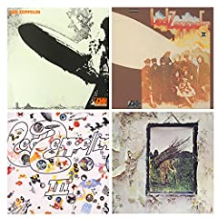 This is a bundling of four Led Zeppelin vinyl lp's.