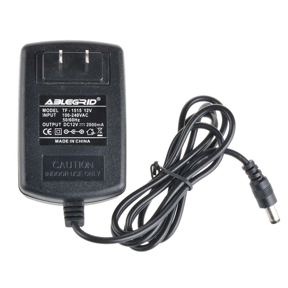 ABLEGRID 12V AC Adaptor Power Supply for Seagate 1TB External Hard Drive P/N 9SF2A4-500