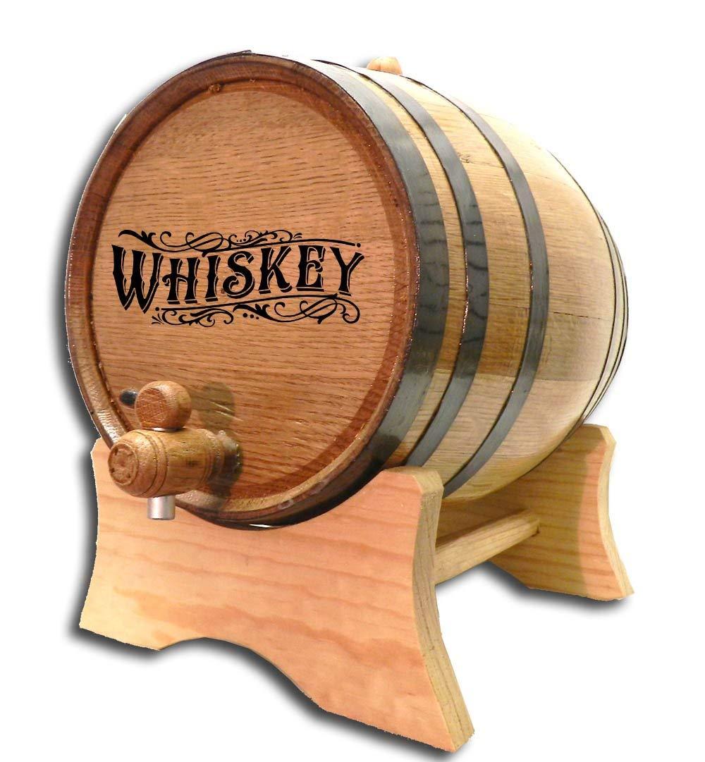 Engraved Whiskey Barrel (B511) (5 Liter)