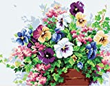 Golden Maple DIY Digital Canvas Oil Painting Gift for Adults Kids Paint by Number Kits Home Decorations- Morning Glory 16*20 inch