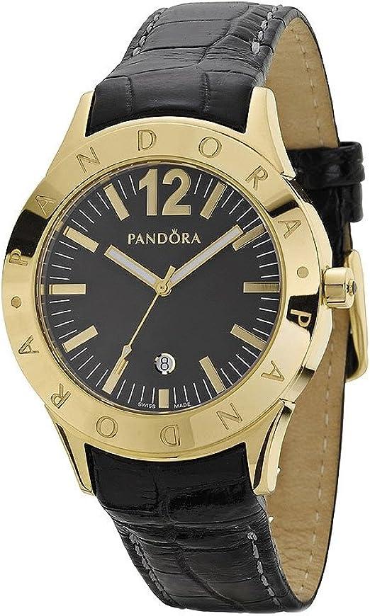 Pandora - 812008BK - Montre Femme - Quartz Analogique - Bracelet ...
