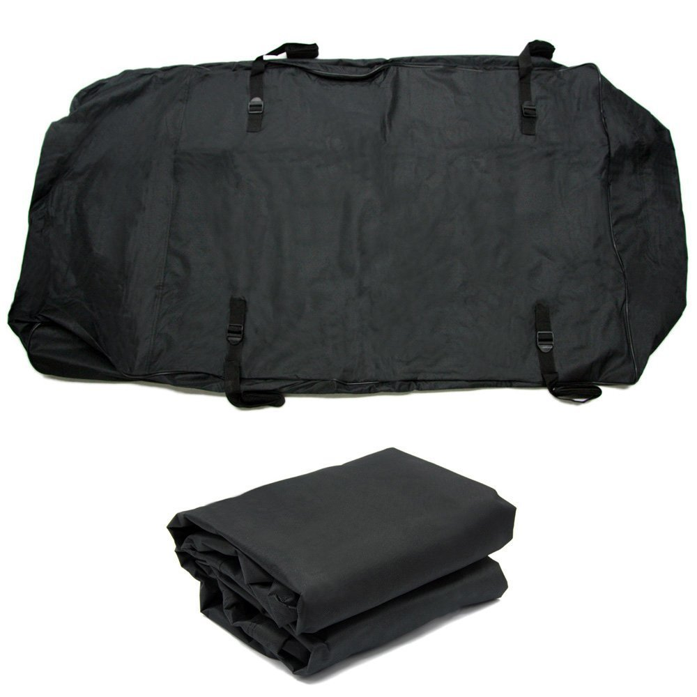 Waterproof Cargo Carrier Bag Luggage Carrier Bag (10 Cubic Ft) Great for Cars Vans Trucks Suvs Car Luggage Carrier