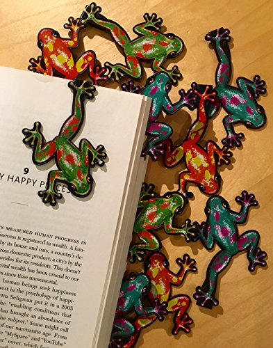 Frog Bookmarks (Set of 10) (Frog Bookmark)
