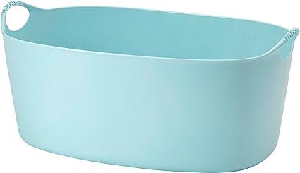Torkis Panier A Linge Flexible Ikea Bleu 35 Litres Interieur Exterieur Amazon Fr Cuisine Maison