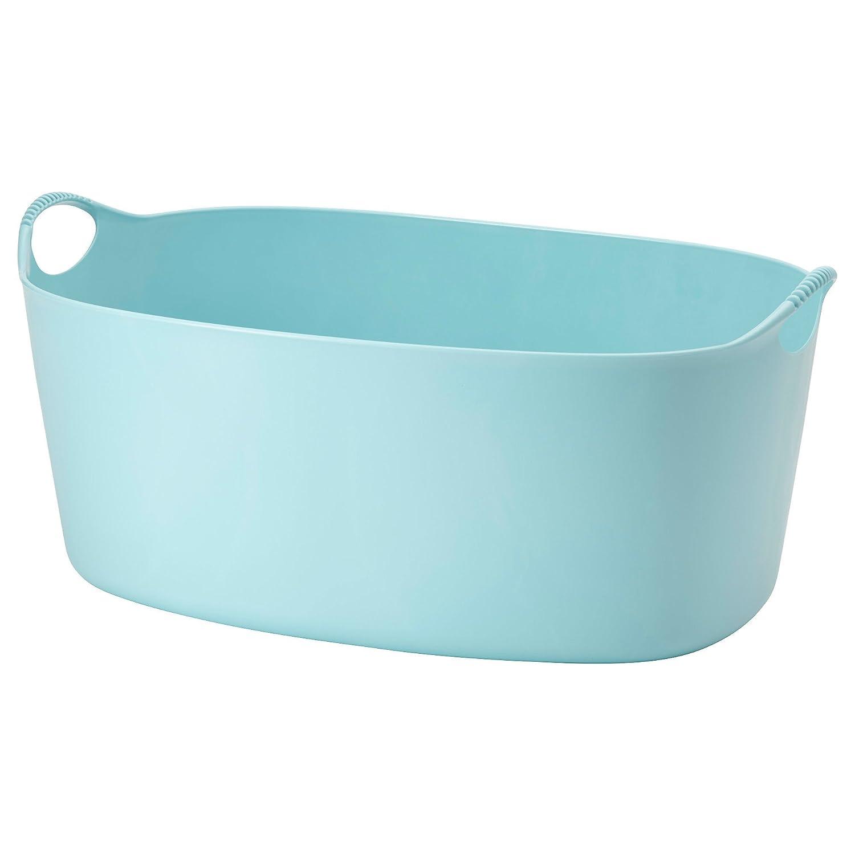 Torkis Flexi Panier A Linge Bleu 35 Litre Interieur Exterieur Ikea Corbeilles A Linge