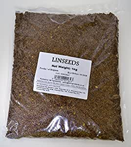 HB Ingredients - Semillas de Lino Marrón 1kg: Amazon.es ...