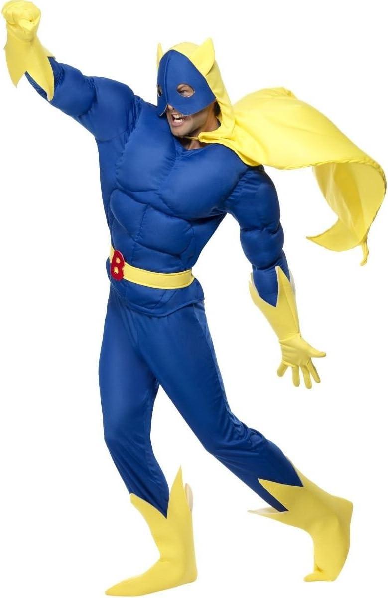 Bananaman - Disfraz de super plátano, talla XL (28082XL): Smiffys ...