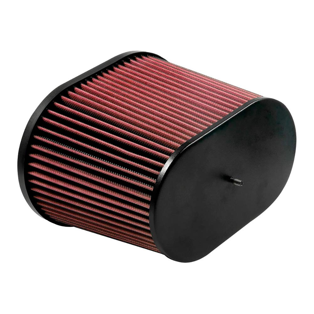 K/&N RC-5179 Universal Clamp-On Air Filter: Round Tapered; 6 in Height; 9 in Base; 6.625 in Top 191 mm 229 mm 152 mm Flange ID; 7.5 in 168 mm