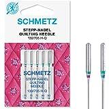 """5 Schmetz Nähmaschinennadeln /""""Quilting/"""" 75//11 und 90//14  130//705 H-Q"""