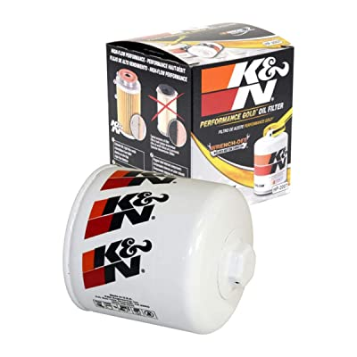 K&N Premium Oil Filter: Designed to Protect your Engine: Fits Select CHEVROLET/JEEP/EAGLE/FORD Vehicle Models (See Product Description for Full List of Compatible Vehicles), HP-2007: Automotive