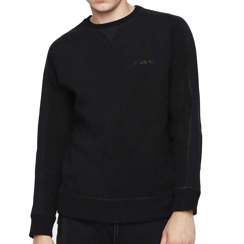 Diesel Herren S-Tina Sweat Shirt 900 Schwarz