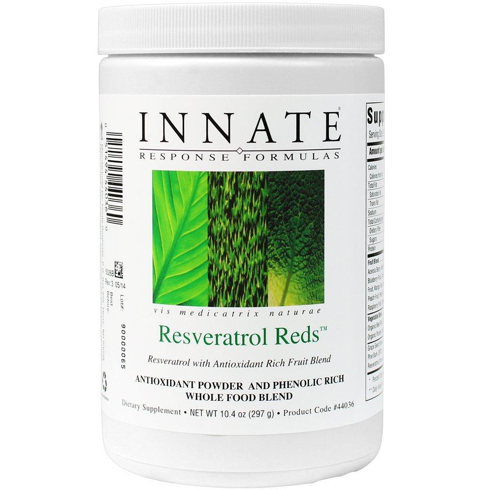 INNATE Response Formulas - Resveratrol Reds, Phenolic Powerhouse, 30 Servings (297 grams)