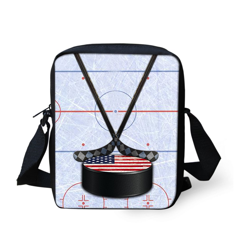 CHAQLIN Football Soccer Boys Girls Sport Work Crossbody Bag Purse Shoulder Bags