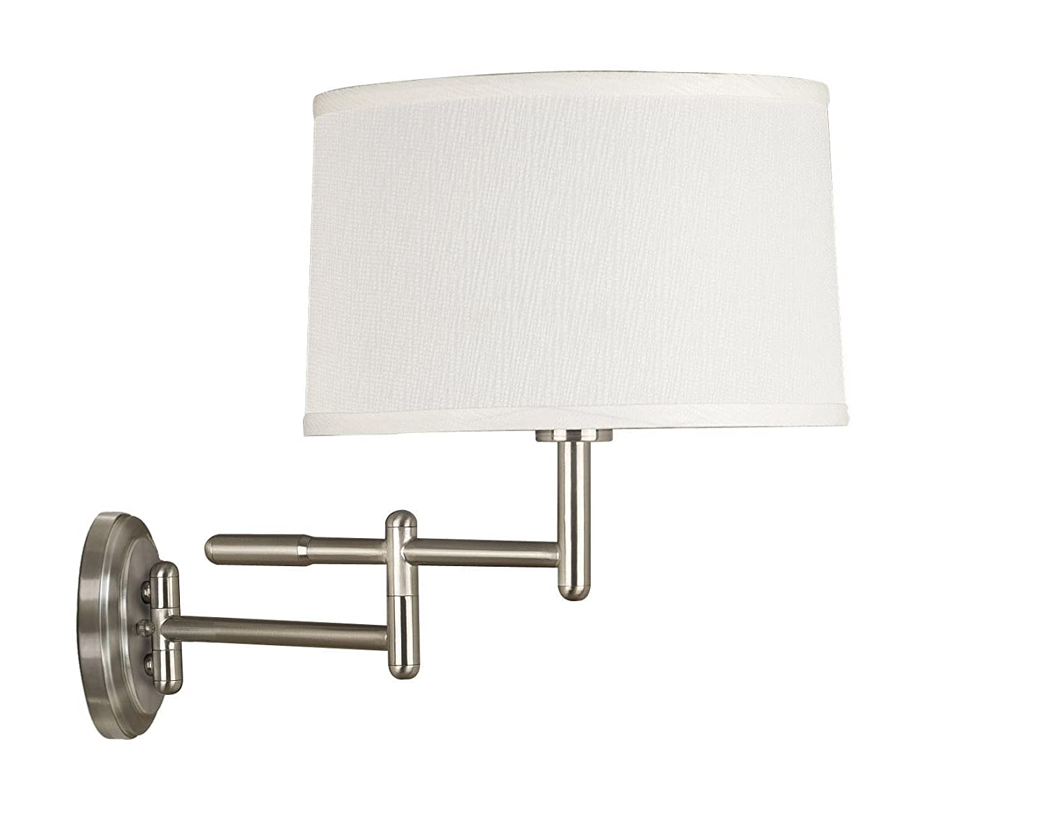 Kenroy Home 20942BS Theta Wall Swing Arm Lamp, Brushed Steel   Wall Sconces    Amazon.com