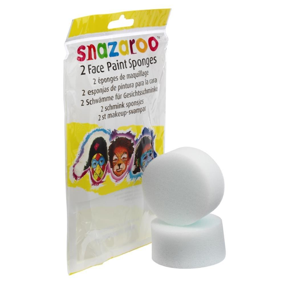 Snazaroo Face Paint High Density Sponge - 2 Pack 1198010