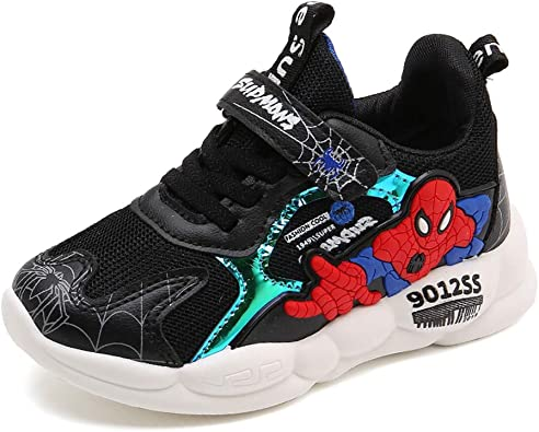 SPKIDS Kids Girls mesh Breathable Sneakers Boys Shoes