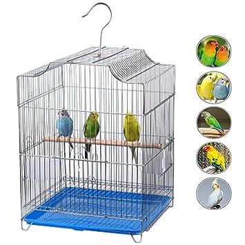 WTTTTW Jaula de Aves para Mascotas, Material de Seguridad PP óxido ...