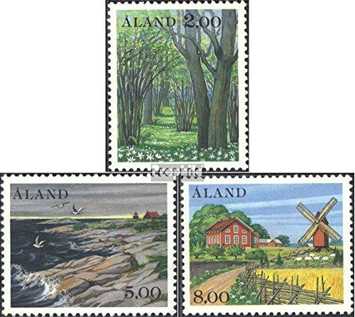 1985 Landscapes - Finland - Aland 11-13 (Complete.Issue.) 1985 Landscapes (Stamps for Collectors) Landscapes
