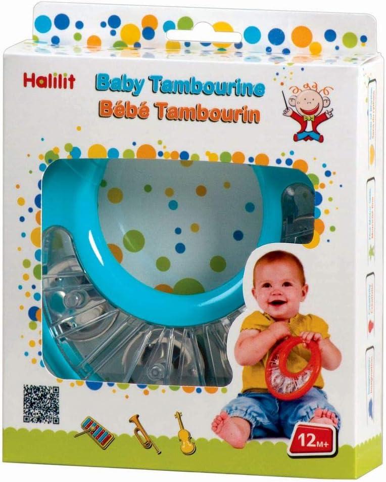 Edushape Ocean Drum Halilit Toddler Musical tambourine NEW