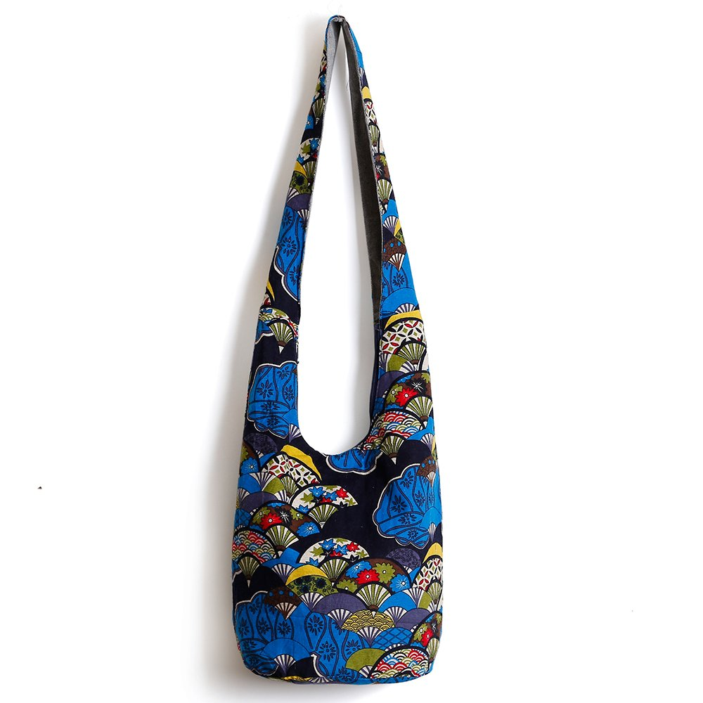 Ethnic Style Bag Lady's Everyday Crossbody Shoulder Bags Women Tourist Cotton Fabric Bag