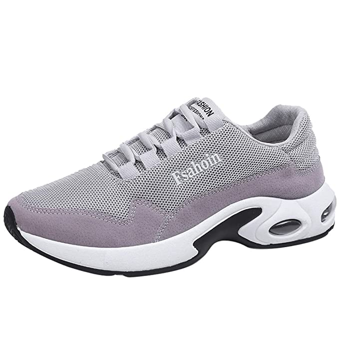 Scarpe Da Ginnastica Corsa Sportive Running Respirabile Basse Waliking Sneakers  Uomo Moda Solido Colore Cross Legato f38f3c2607a