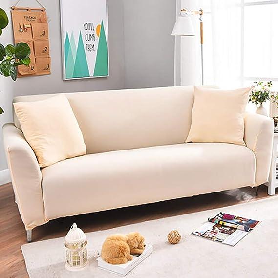 Amazon.com: LE FU YAN Stretch Sofa Cover & Polyester Fabric ...