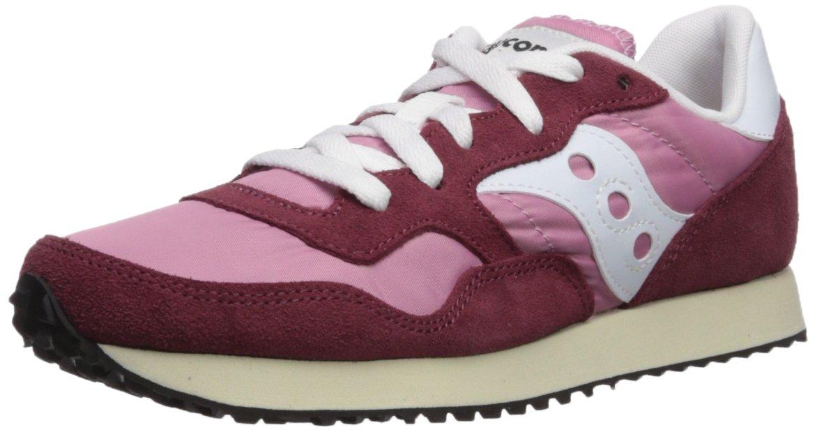 Saucony Originals Women's DXN Trainer Vintage Running Shoe B072JTWDTR 7.5 B(M) US|Burgundy/Pink