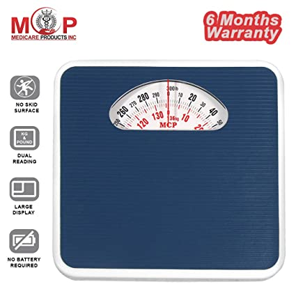 MCP PAXMAX Personal Large Surface Iron Analogue Mechanical Weighing Scale