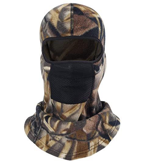 MIFULGOO Balaclava Ski Mask Full Face Cover Windproof Hood for Cold Winter  Weather Camo (M12 cce845ced6c
