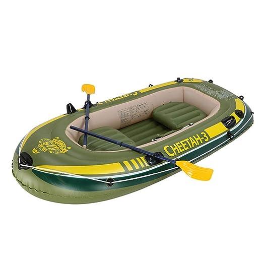 Owenqian-pht Kayak Inflable Doble Bote de remos de Goma PVC Red ...