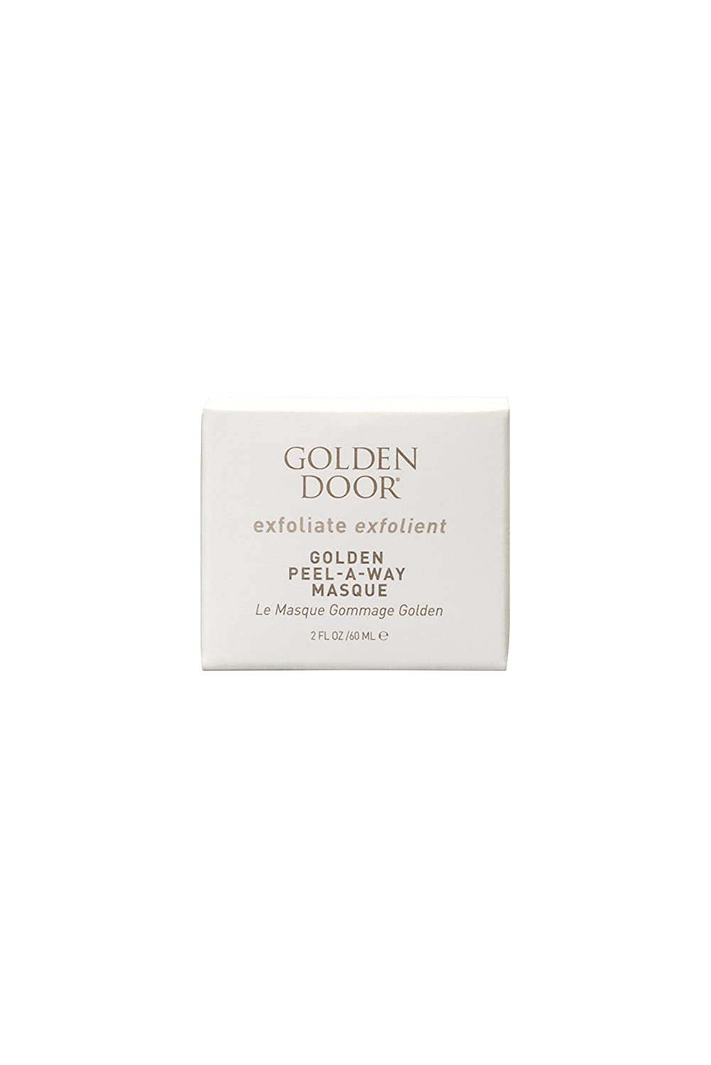 Golden Door Peel-Away-Masque, 2 fl oz, Luxurious Gold mask, hyaluronic Acid, Peel Off mask, Hydrate While You exfoliate Dead Skin, Radiant Complexion, Brighten and Firm Skin, Botanical extracts