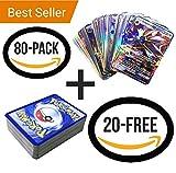 pokemon tcg psychic energy - Pokemon 100 Pcs TCG Style Cards 20 GX + 20 Mega +1 Energy + 59 EX Arts