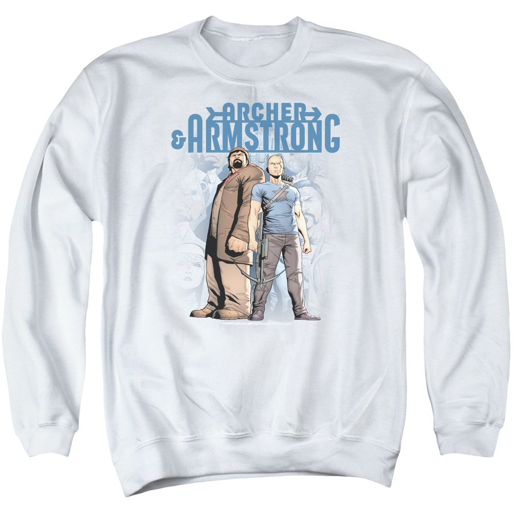 Archer & Armstrong - Herren-Two Against All Sweater