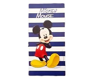 TOALLA DE PLAYA PARA NIÑOS, DISEÑO DE MICKEY DE DISNEY MICKEY MOUSE NUEVA COLECCIÓN 75 X 150 cm ALGODÓN PURO CINIGLIATO: Amazon.es: Hogar