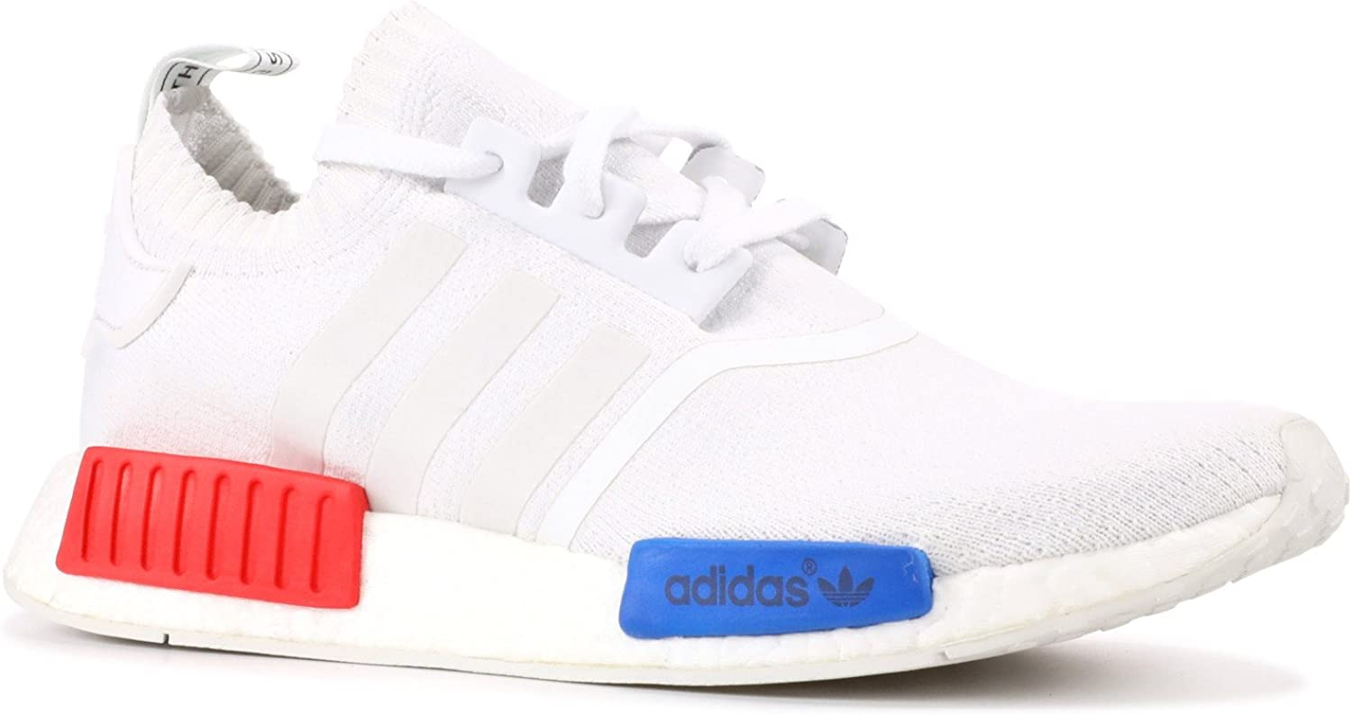 zapatos de temperamento nuevo producto talla 7 Amazon.com | adidas NMD Runner Pk - S79482 - Size 11 White, Red, Blue |  Athletic