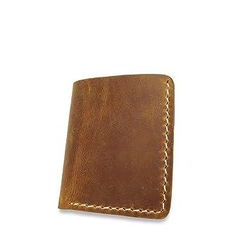 ... Cuero para Hombres y Mujeres Minimalista Blando Mini Bolso de Mano Cartera de Bolsillo Restauración de Formas Antiguas RFID Monedero: Amazon.es: Hogar