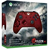 Microsoft Xbox Wireless Controller Gears of War 4 Crimson Omen Limited Edition - gaming controls (Gamepad, Xbox One S, PC, Xbox One, D-pad, Menu, Wireless, Windows 10 Education, Windows 10 Education x64, Windows 10 Enterprise, Windows 10 Enterprise x64, Wi)