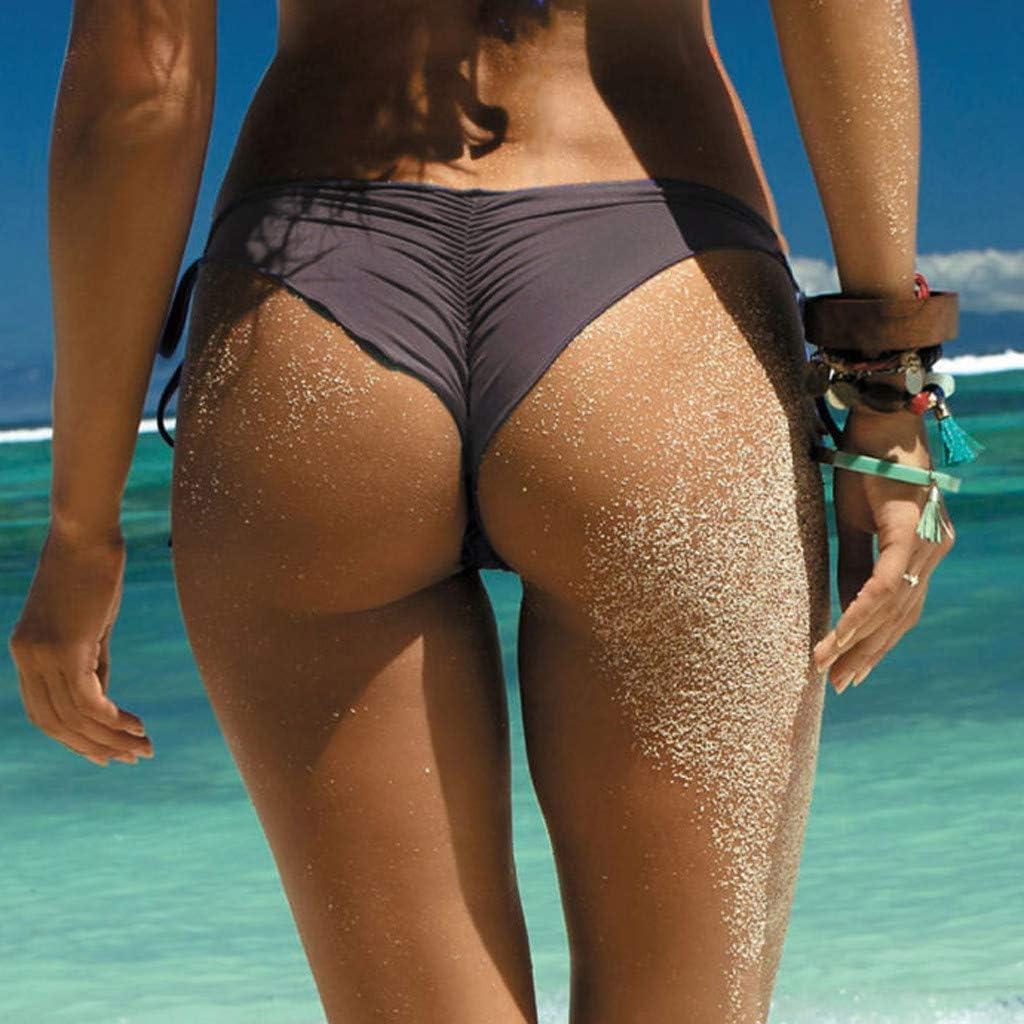 Bikini Traje de baño Bikini de Mujer Trajes de Baño Sexy Conjunto de Bikini Tanga Playa Bikini Set Push-up Acolchado Bra Tops y Braguitas Ropa de Baño Beachwear Bikini para Mujer, Traje